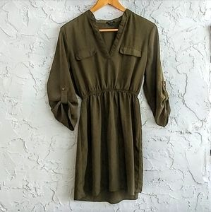 rue21 Dress Olive Green Medium